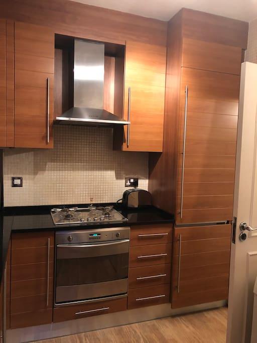 Kitchen ( fridge , freezer , oven, ventilator , toaster ,