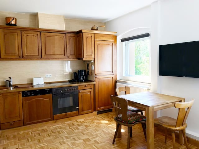 2 room flat Gardenview 2 Zimmerwohnung Gartenblick