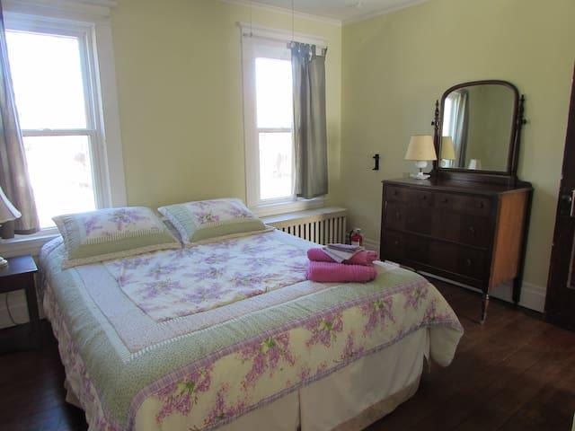 Upstairs Bedroom 1 - Queen Bed