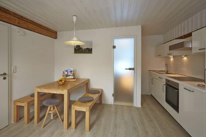 Urlaubsreiterhof Trunk (Igersheim), Ferienwohnung Stutenglück - modern eingerichtet mit zwei Schlafzimmern