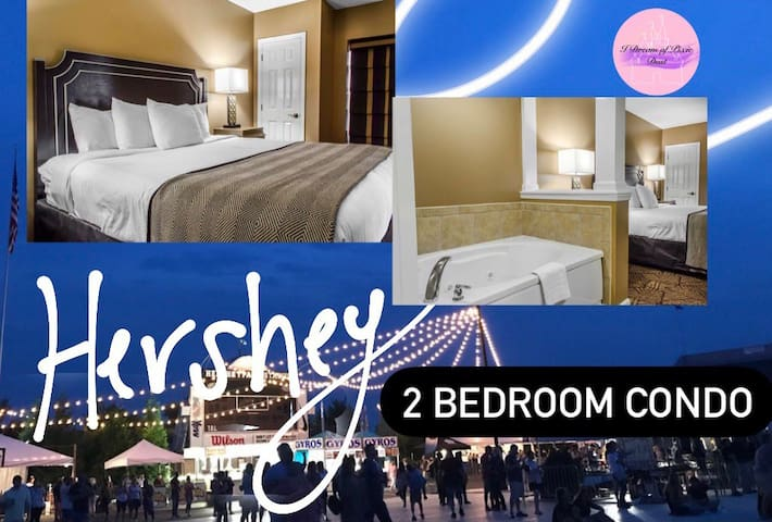 6 min to Hershey Park/Fully equiped condo