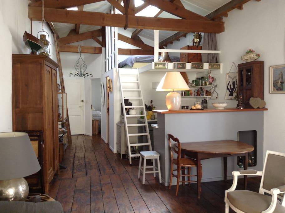 Appartement de charme calme centre historique maisons for Achat maison la rochelle centre ville