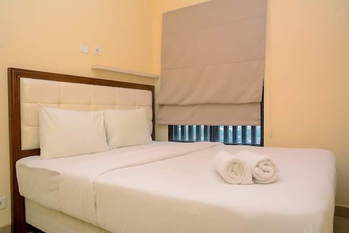 Cozy and Elegant 2BR Apartment at Kebayoran Icon