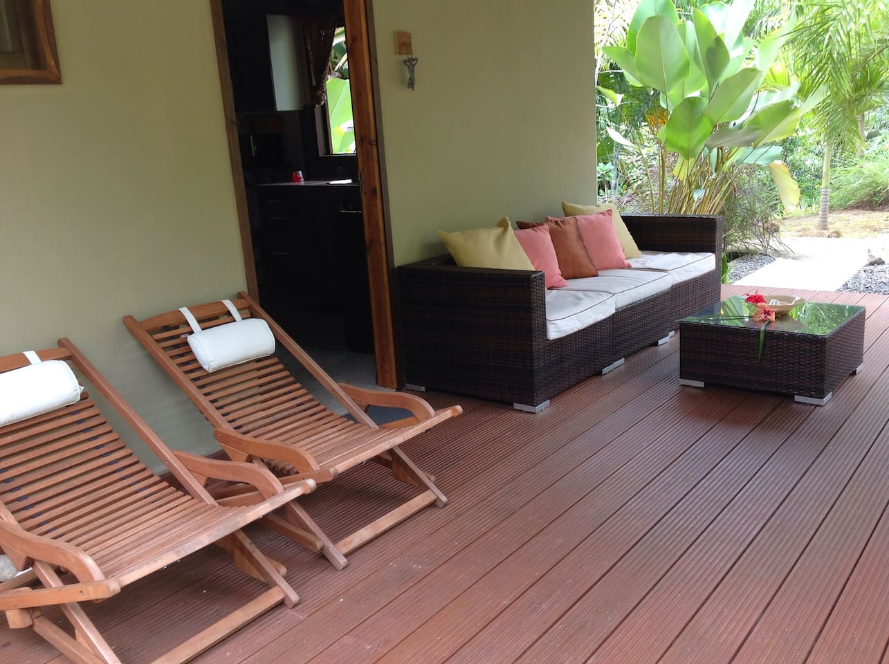 Relax in your private villa at A PEACE IN PARADISE.