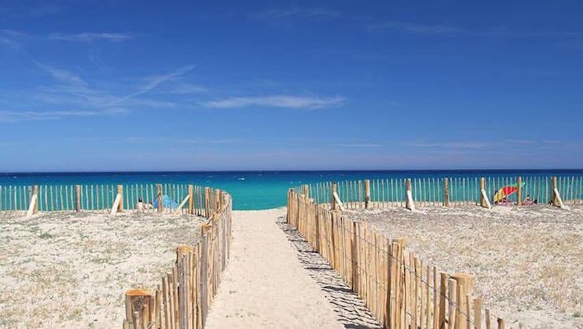 Duplex à 500 m de la plage avec piscine balagne