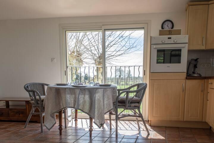Appartement meublé dans mas provençal proche Arles