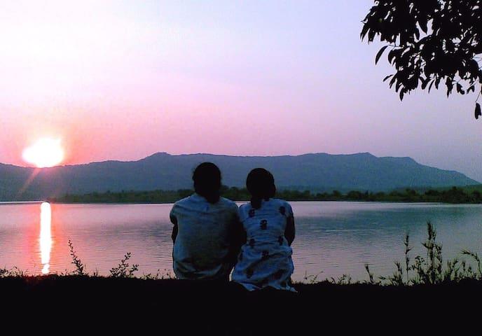 Kamshet Lakeside Serene Artist Villa
