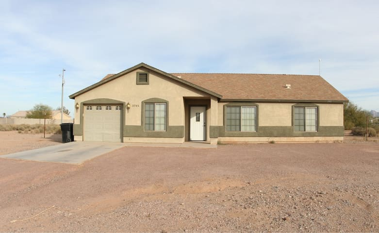 5 Bedroom Home near Skydive Arizona & Robson Ranch - Eloy - Hus