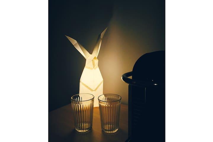 南锣鼓巷斜对面 | 高科技智能公寓 小白兔的柔软小窝 - Pechino - Appartamento