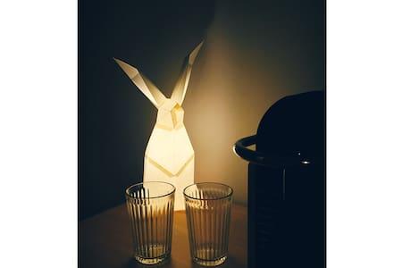 南锣鼓巷斜对面 | 高科技智能公寓 小白兔的柔软小窝 - Peking - Wohnung