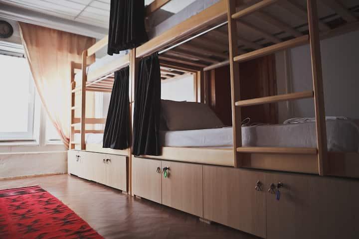 4 Beds Mixed Dorm Room @Driza's House Hostel #1
