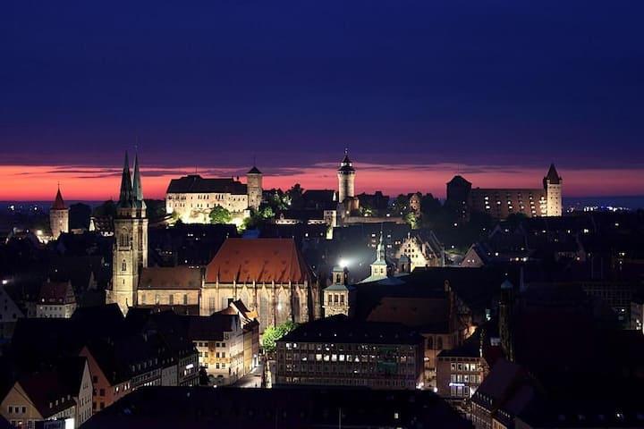 Das Zuhause im Herzen Nürnbergs