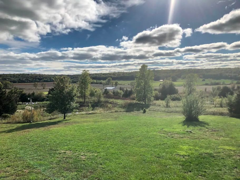Fall 2018 View from the deck