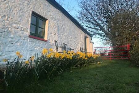 Irish Traditional Cottage on the Wicklow way