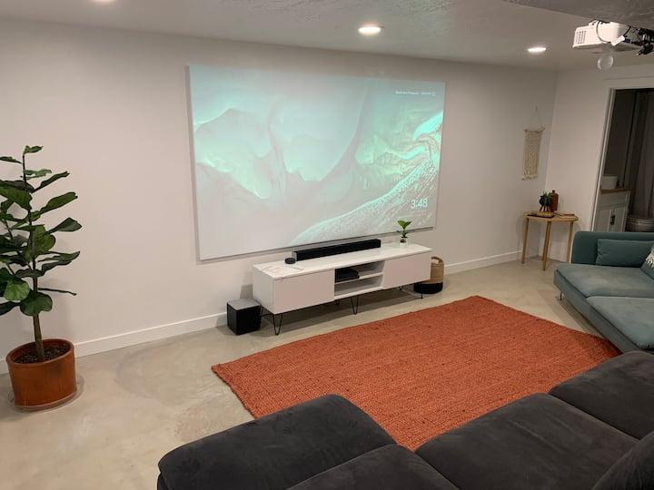 New Modern basement apartment