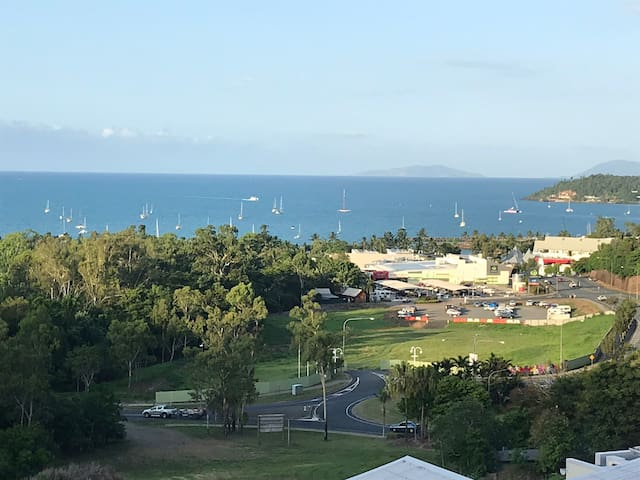 Airlie Beach- Coral Sea vista.