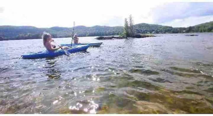 Petit Paradis du Lac / Otter Lake Cottage !