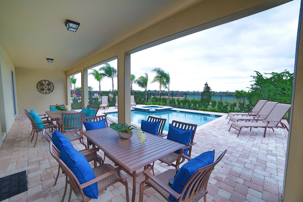 Private View Pool with Lanai