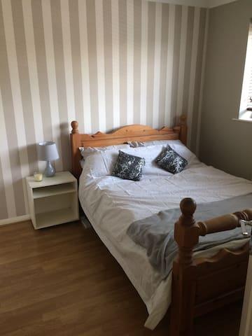 Double room in quiet village location
