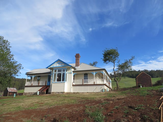 Levengrove - A century-old farmhouse - circa 1906. - Gunns Plains - Casa