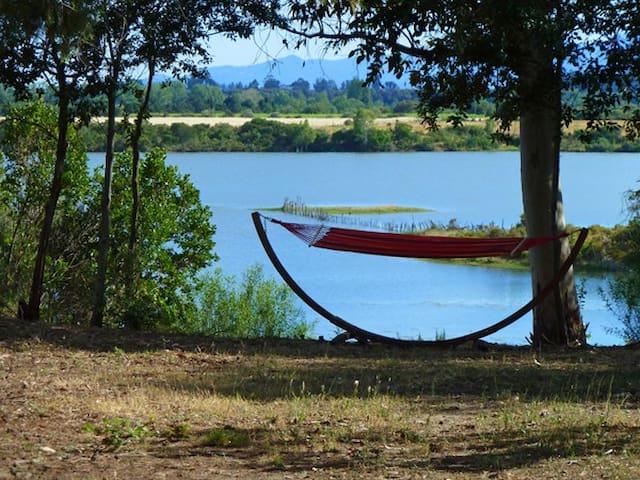 Proche plages et commerces, en pleine nature, lac. - Aléria - Wohnung