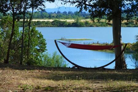Proche plages et commerces, en pleine nature, lac. - Aléria