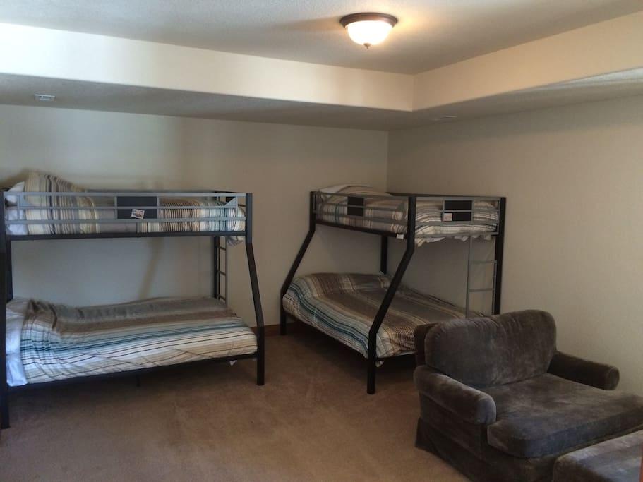 Basement Kids Bedroom