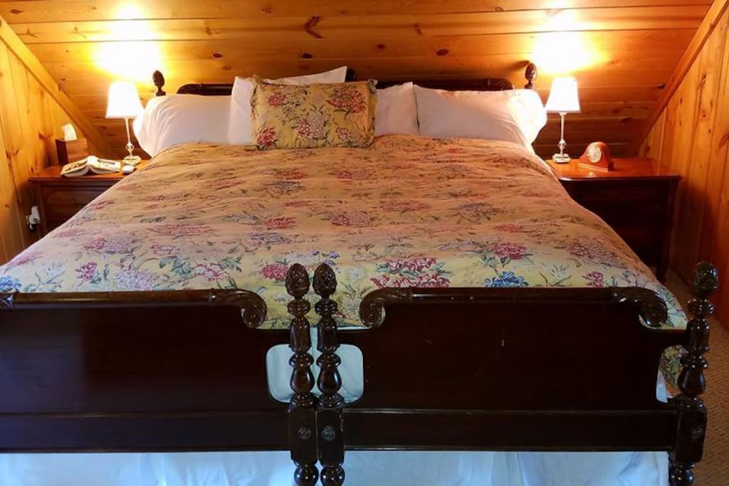 If you would prefer, simply ask us, and we can move the two beds apart, creating two extra long single beds, one for you and one for your traveling companion.