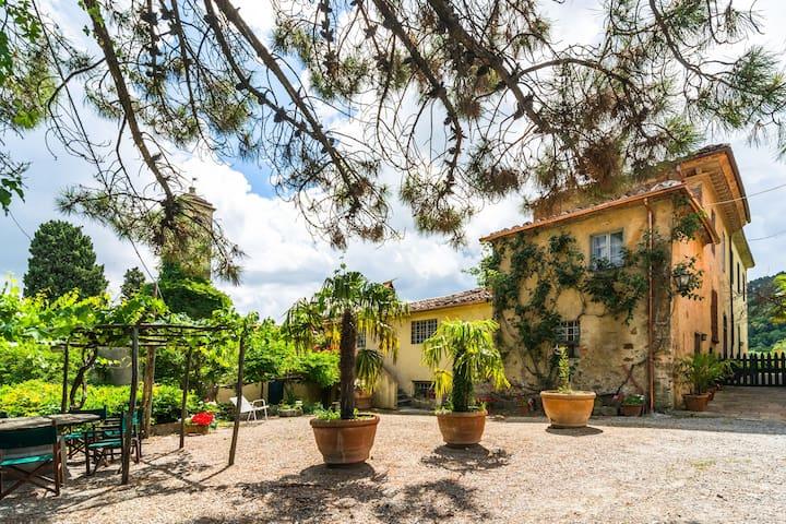 Casa con el ala ambiente auténtico de la antigua finca agrícola de vino