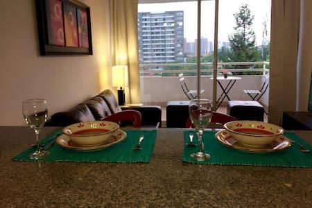 HERMOSO DEPTO EN ÑUÑOA CON ESTACIONAMIENTO - Ñuñoa - Lägenhet