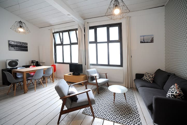 Stylish Central Paris Marais Loft