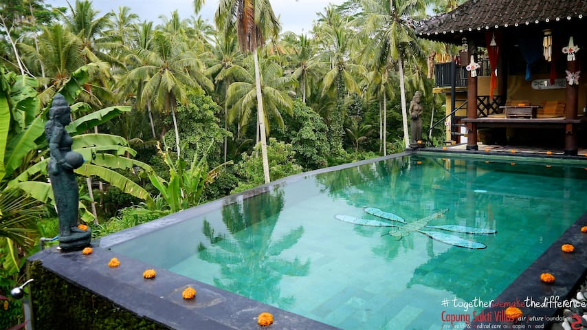The Breathtaking Bramhâ House @ Capung Sakti - Ubud - Talo