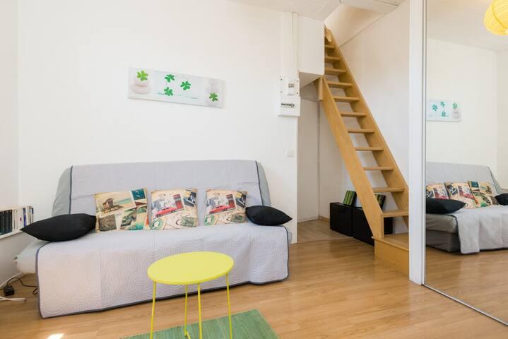 Charmant petit duplex Annecy centre