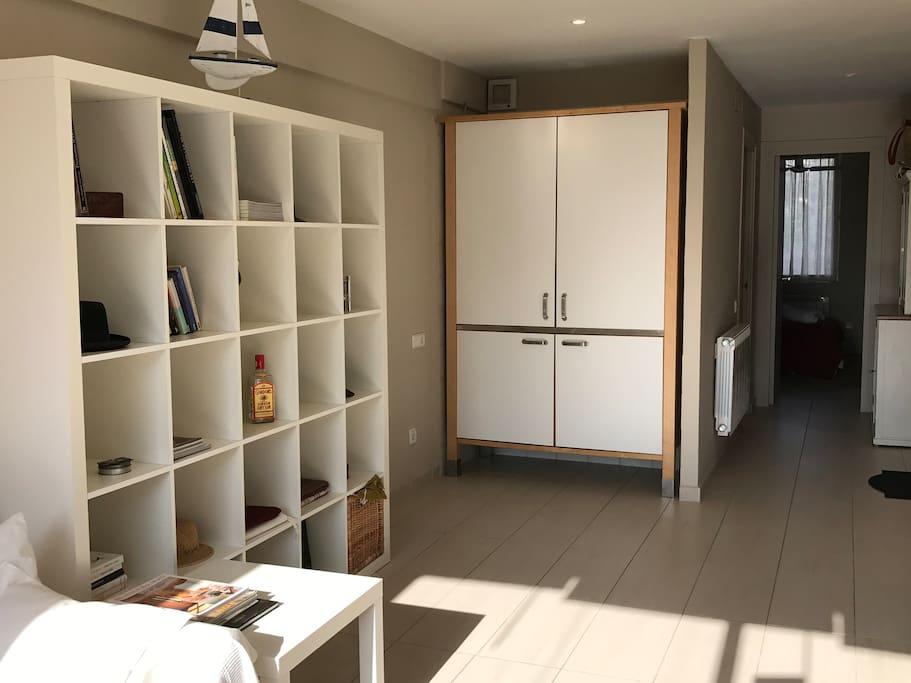 Kitchen hidden away