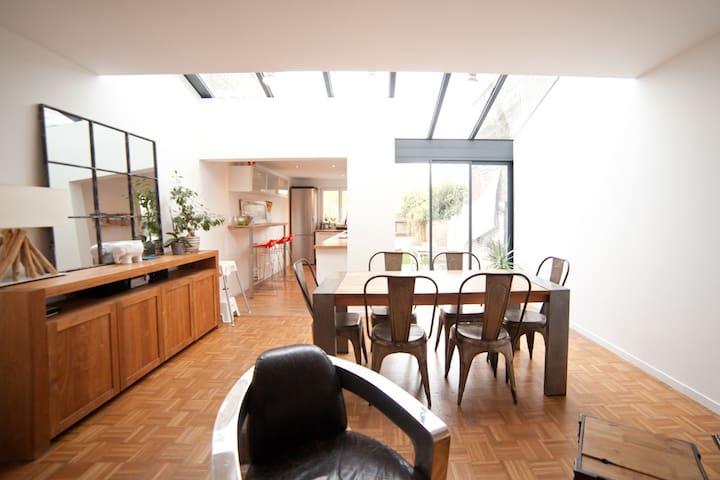 Maison Calme 4 chambres aux portes de Lille centre - Mons-en-Barœul - Maison