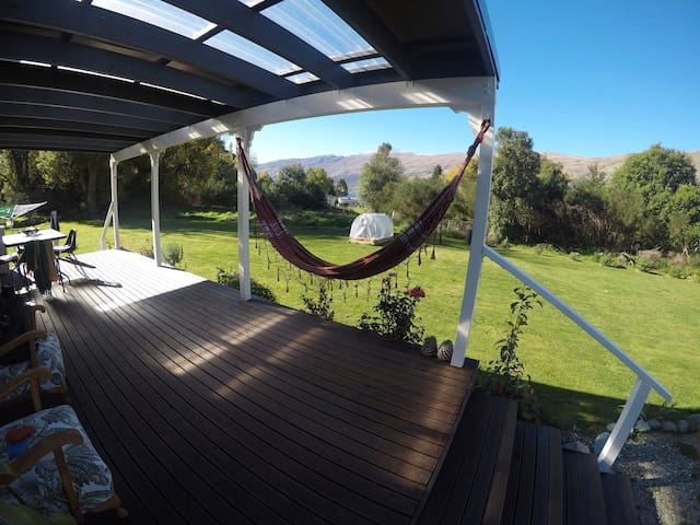 Enjoy the afternoon sun and take a nap in the hammock.