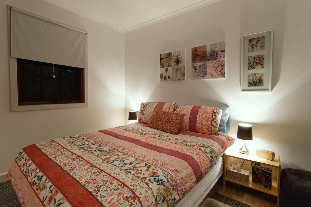 Second bedroom - double bed.