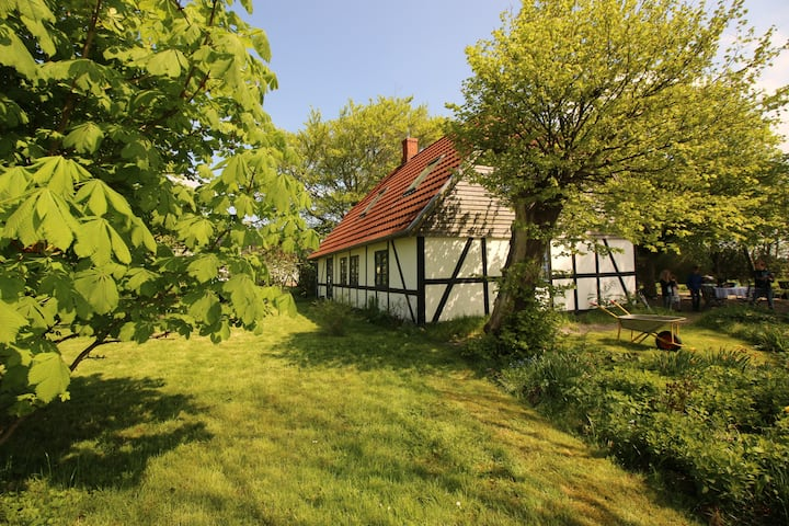 Old danish farmhouse in the south of Denmark