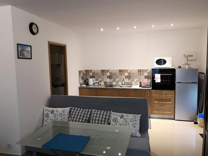 Little flat near airport CDG and 25min from Paris