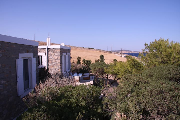 Stone House in Cyclades, Schinoussa Island