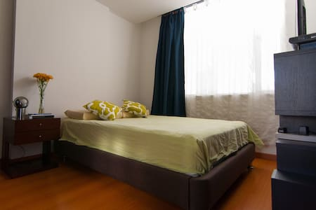 Habitación y baño privados en el corazón de Bogotá - Bogota - Apartament