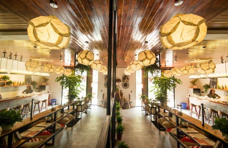 在_木舍|三舍|18㎡:年轻的我们总要一个阳光灿烂的家 - Suzhou - Talo