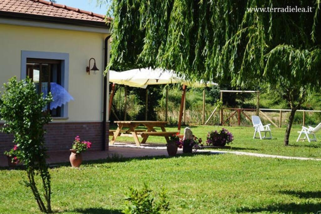 il giardino per rilassarsi