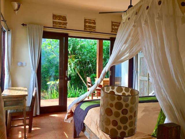 #1 Ubud, cozy, fast wifi, breakfast, quiet, nature - Ubud - Bed & Breakfast
