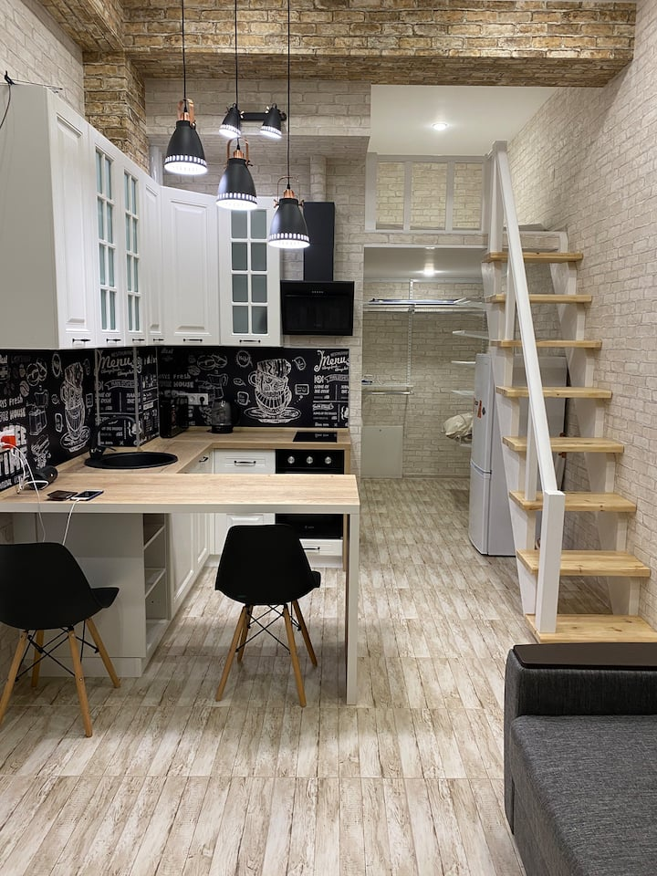 Стильная квартира в Сочи  Центральный р-н