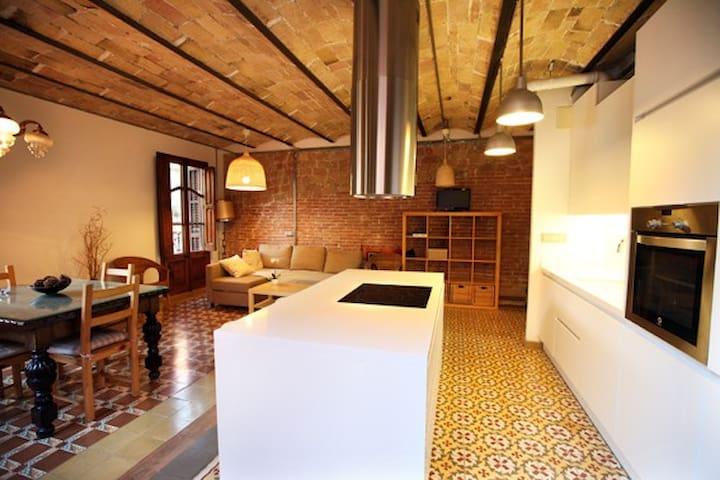 Lovely design suite on the center Barcelona - Barcelona - Apartment