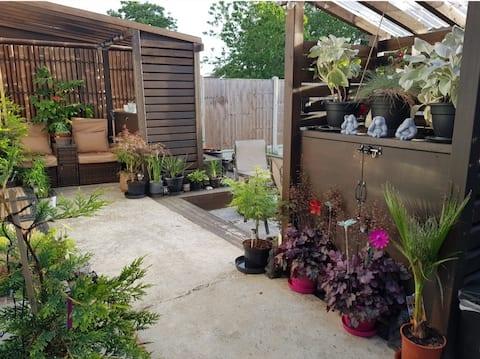 Stylish double studio with kitchen and bathroom