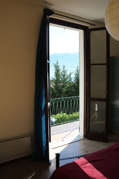 Lake view fro bedroom