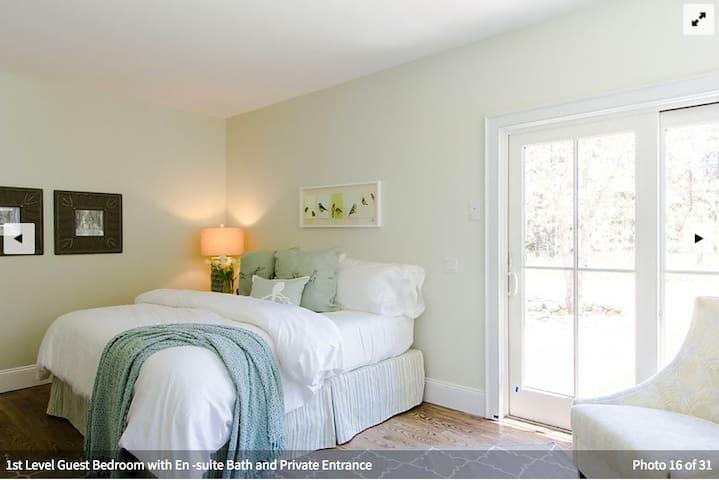 First floor master bedroom #2 with en suite bathroom