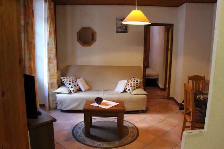 Appartement cosy au pieds des pistes et randonnées - Vallorcine - Lägenhet